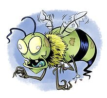 Zombee (Zombie Bee) by JeffMorin
