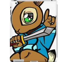 Sword Bunny Shirt iPad Case/Skin