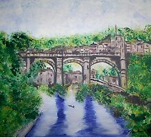 Knaresborough Yorkshire by Paulinequinnin