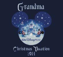 Blue Christmas Mickey & Minnie Disney Family Vacation ~Grandma by sweetsisters
