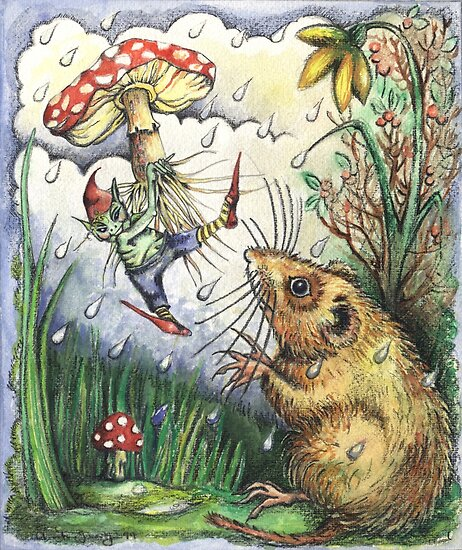 The Elf and the Dormouse by Anita Inverarity