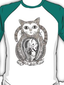 Contented Cat Tee T-Shirt