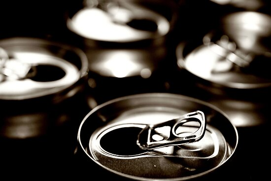 beer cans by Angus Beare