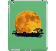 African Moonrise iPad Case/Skin