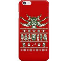 Chrono Christmas Sweater iPhone Case/Skin