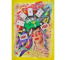 Play or gamble Photographic Print
