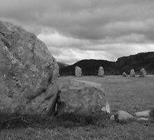 Castle Rigg stone circle. by richieh755