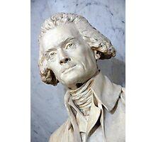 A Thomas Jefferson Bust Photographic Print