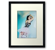 Twisted Ballerina - 3 Framed Print