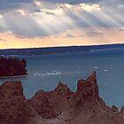 Chimney Bluffs by pwall