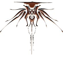 Bronze Cyber Wings by gtcdesign