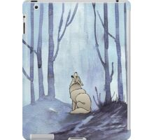 From silvery woods there comes a call iPad Case/Skin