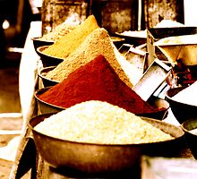 Pushkar Spices India by Mark Claridge