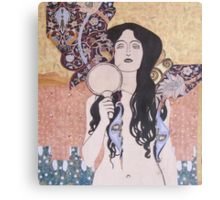 The Naked Truth Canvas Print