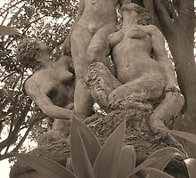 Norman's Nudes (Sepia) by Jennifer and Paul Cave
