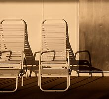 Two chairs by Robyn Lakeman