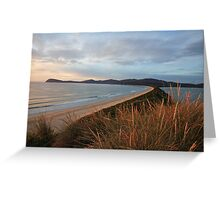 Bruny Island Sunrise, Tasmania Greeting Card