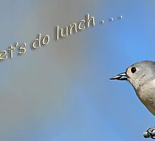 Let's do lunch . . . by Bonnie T.  Barry