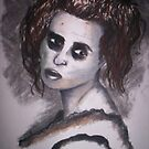 Mrs Lovett- Did you come here for a pie sir? by CharcoalPoet
