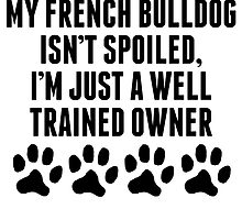 Well Trained French Bulldog Owner by kwg2200