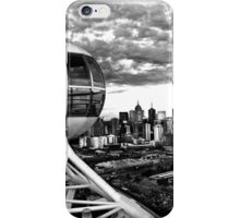 Melbourne Star View BW iPhone Case/Skin
