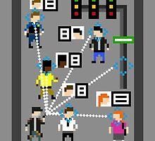 Watch_Dogs 8-Bit  by TheWangMeister