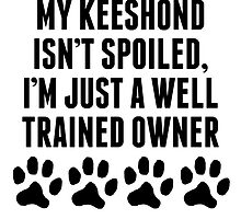 Well Trained Keeshond Owner by kwg2200