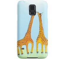 Who is Taller Unicorn Giraffe or Penguin? Samsung Galaxy Case/Skin