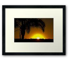 Merimbula Sunrise Framed Print