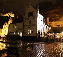 """The Old Trip To Jerusalem"" Oldest Inn in Uk Opened in 1189. Nottingham UK by geoff curtis"