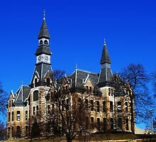The Castle at Park University by Jelderkc