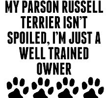 Well Trained Parson Russell Terrier Owner by kwg2200