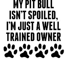 Well Trained Pit Bull Owner by kwg2200