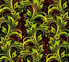 green pattern by VioDeSign