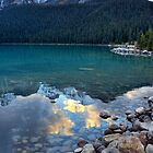 Evening at Lake Louise by finkycake