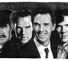 The Many Faces of Benedict Cumberbatch by Rotae