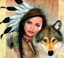 Native Beauty by kiddruba