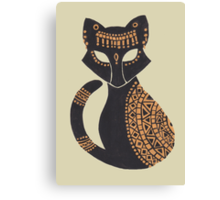The Egyptian Cat Canvas Print