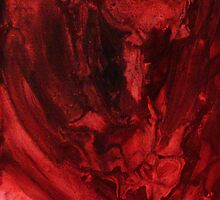 journey (crimson) by mimi yoon