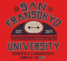 San Fransokyo University by Arinesart