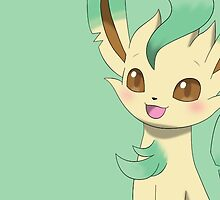 "Leafeon "" Without Name "" by Winick-lim"