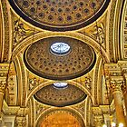 Ceiling of the L'église Sainte-Marie-Madeleine by Ayush Bhandari