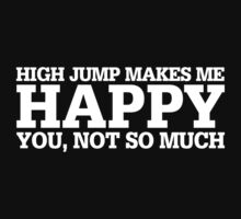 Happy High Jump T-shirt by musthavetshirts