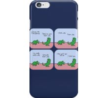 T-Rex Hates Giving Directions iPhone Case/Skin