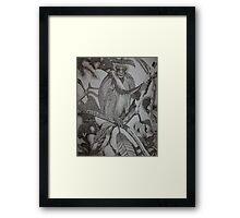 Monkeying Around Framed Print