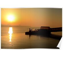 Woodside Ferry Sunrise Poster
