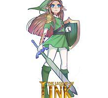 Female Link Green by Damon389489