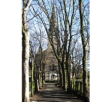The Kirk Below The Castle Photographic Print