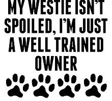 Well Trained Westie Owner by kwg2200