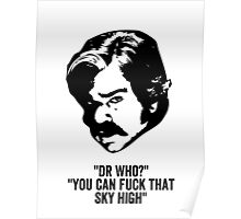 Toast of London 'F that sky high!' Poster